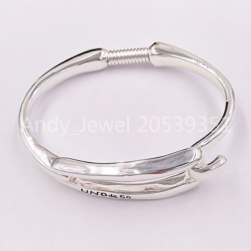 Authentic Bracelet Legato Amicizia Braccialetti UNO DE 50 Plated Jewelry Adatti regalo in stile europeo PUL1721MTL000
