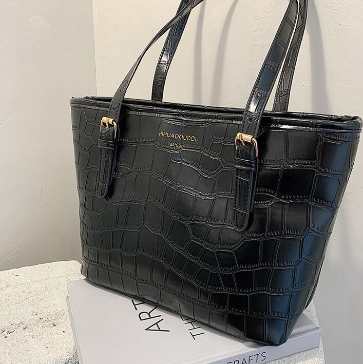 fashion women totes women handbags purse plain shoulder bags high quality leather women shopping bag