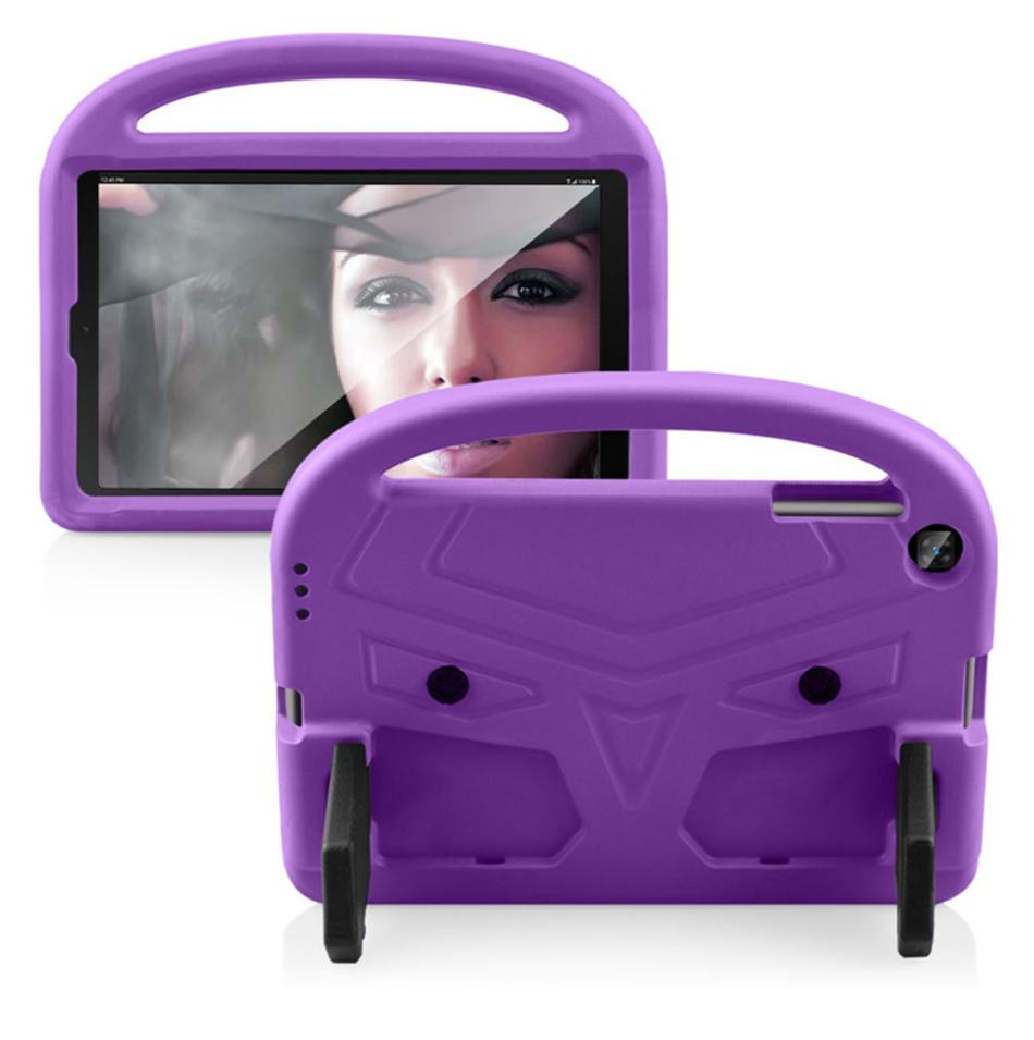 Mango niños de los niños del caso del soporte de espuma EVA suave a prueba de golpes de la tableta para el iPad Mini 45 Samsung Tab T110 T113 T230 T290 Amazon KindIe fuego 7