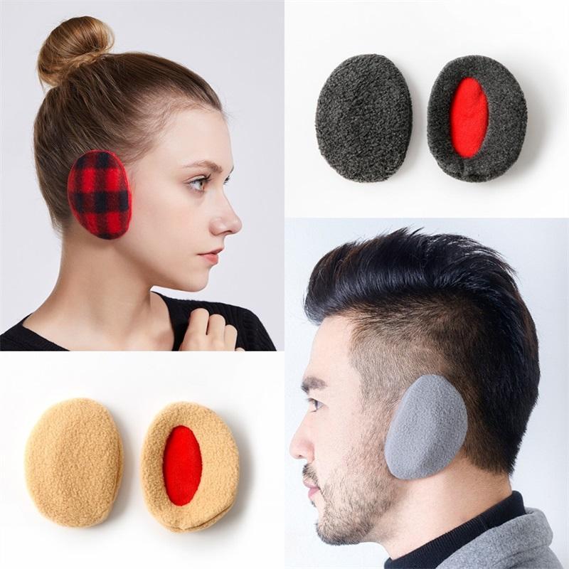 Delicato Earflap singola senza fasce Kid Uomo Donna dell'orecchio Copertura luce compatta Orecchie portatili Muff multi Opzioni colore 7 5SY F2
