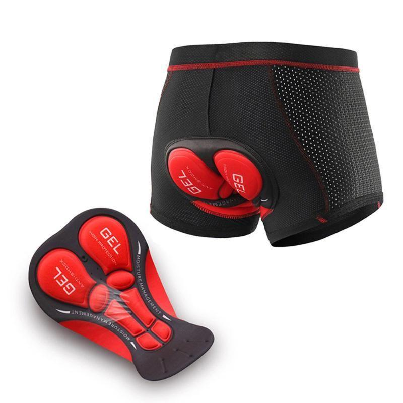 Radfahren Unterwäsche 5d Gel Pad Shorts Stoßdichtes Unterhosen atmungsaktiv