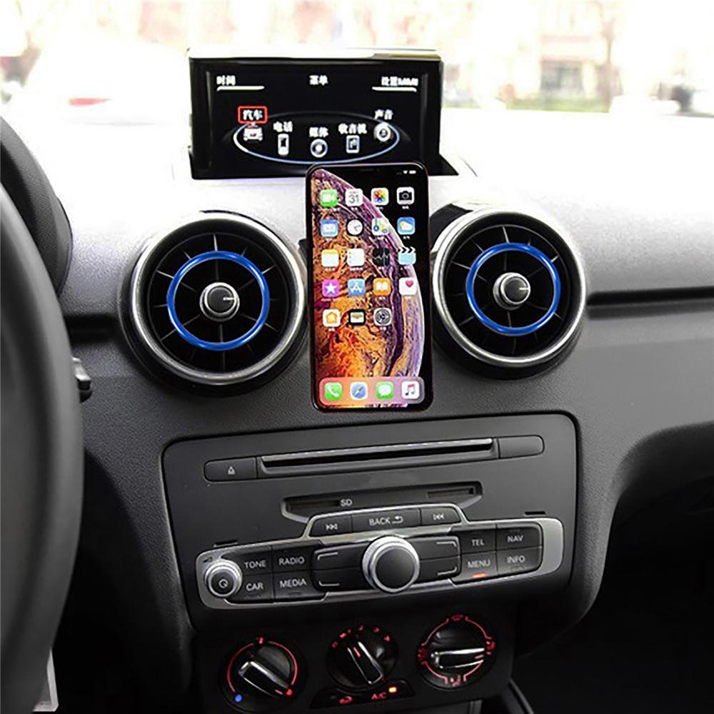 Gravity Mobile Holder Clip de support Audi A1 A3 Car Air Vent de sortie Support de montage pour iPhone Android Smart Phone
