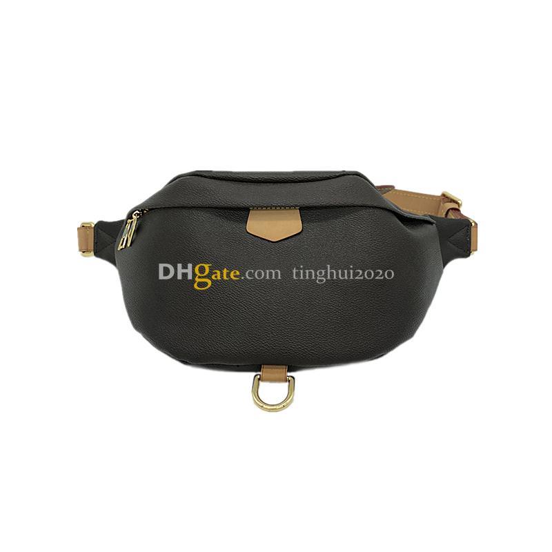 Nova Chegada Famoso Bumbag M43644 Alta Qualificado Alta Qualidade Cross Corpo Moda Shou Lder Bag Brown Cintura Bag Bum Unisex Cintura Bags Frete Grátis