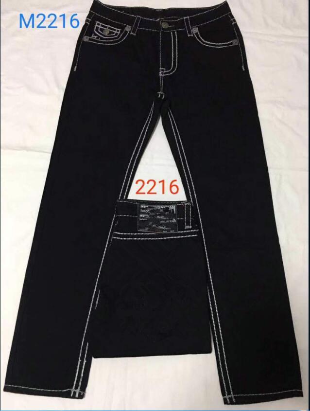 Spedizione gratuita di alta qualità Hot Mens Robin Jeans Crystal Studs Denim Pants Pantaloni Designer Designer Dimensioni da uomo 30-40 9138