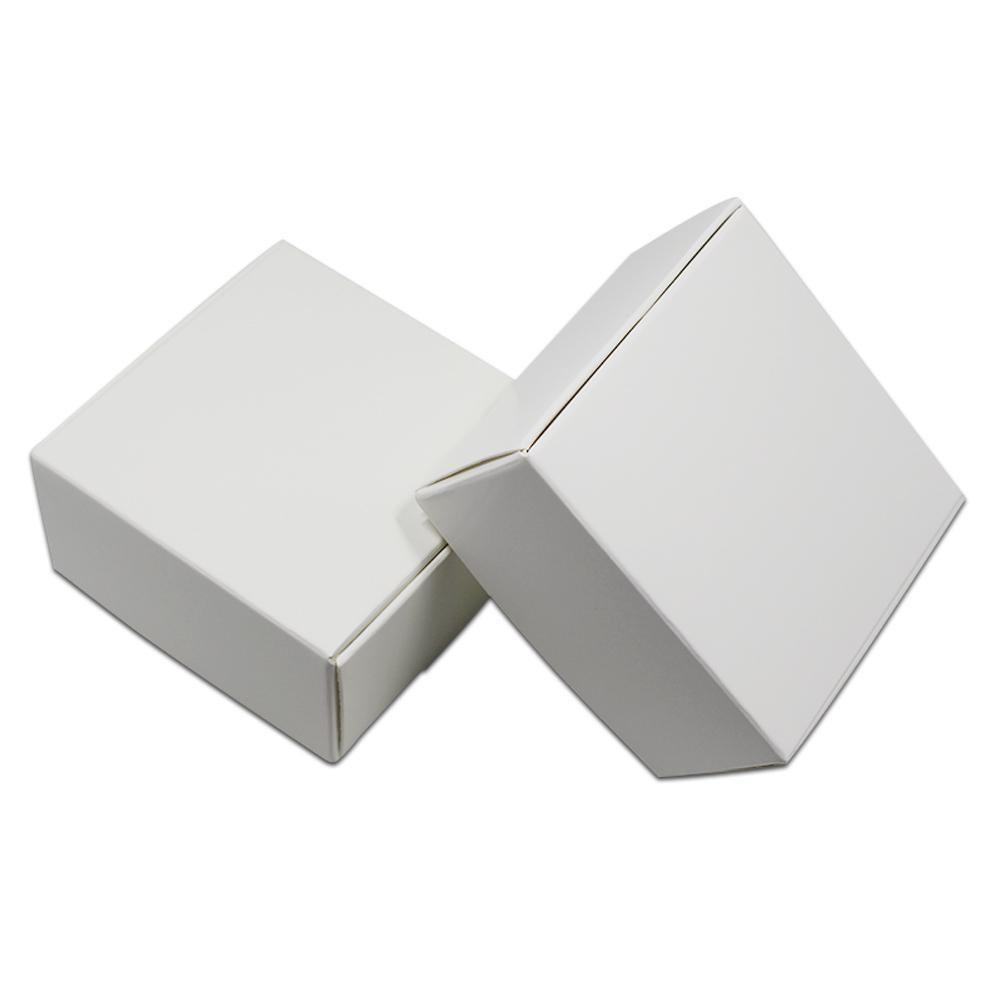 30pcs White Kraft Paper Packaging Box Paperboard Wedding Party Small Gift Packing Boxes Craft Paper Diy Handmade Soap Pack Box H bbyPwC