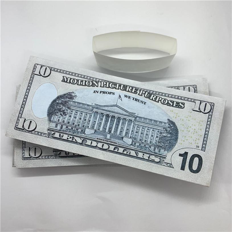 100 teile / pack neues design 2021 bar party banknoten dollar kopie banknoten großhandel realistisch vorgeben Geldpapier A24