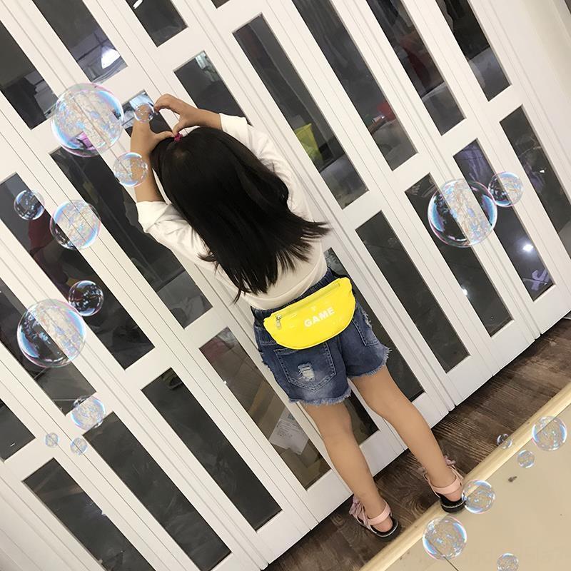 moda esportiva girlspersonalized c fashion transparente exterior transparente messenger bag boysrunning estilo coreano das crianças