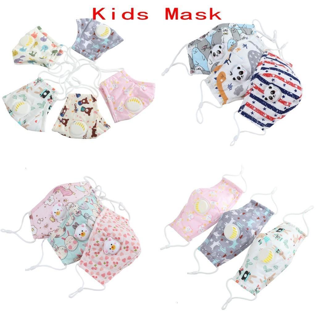 Çocuklar Bezi Yüz Yıkanabilir Yeniden kullanılabilir Karşıtı Hava Kirliliği Face Çocuk Boy Kız Pembe Yüz Maskesi Maske