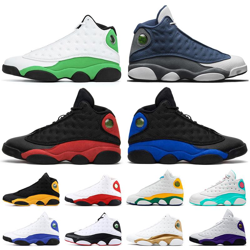 Мода отражает Lucky Green 2020 Flint 13 Hyper Royal 13 13s Compen Mens Trainers Outs Outs Outs Mens Chicago он получил игру спортивные кроссовки