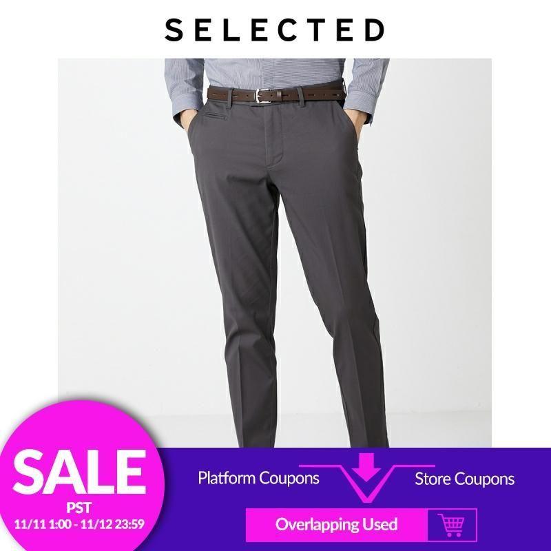 Seçilen yaz erkek pamuk pantolon slim fit rahat uzun pantolon s | 419314552