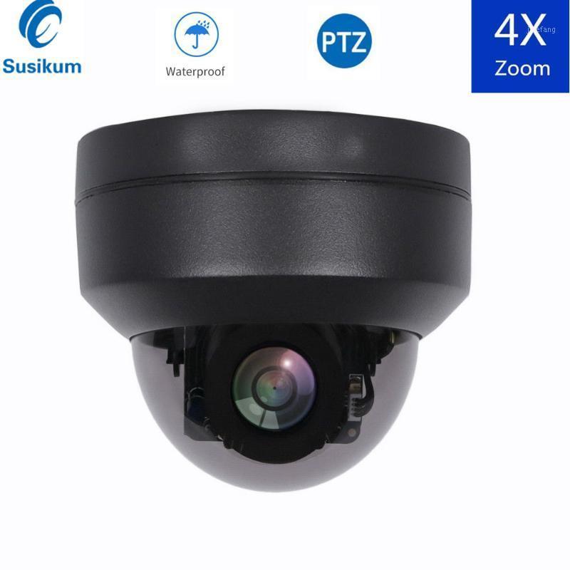 Mini PTZ Kamera Açık AHD 2MP 5MP 2.8-12mm Motorlu Lens 4x Yakınlaştırma Su Geçirmez IR 20 M Gece Görüş Güvenlik Hızı Dome Camera1