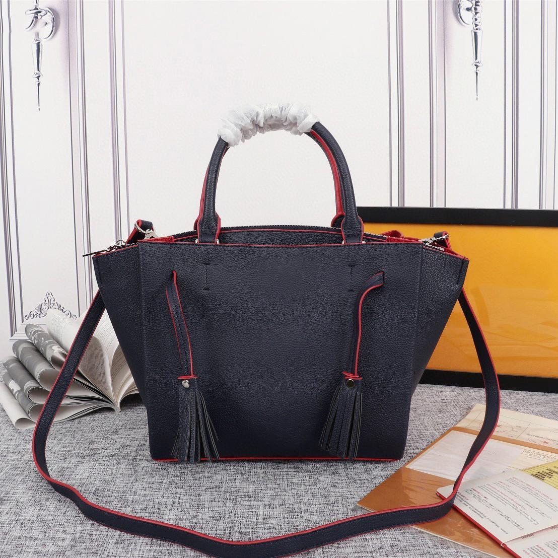 Top di qualità e di grande capacità classici delle donne delle borse delle signore tote composito borse a tracolla Pochette in pelle genuino borse borse