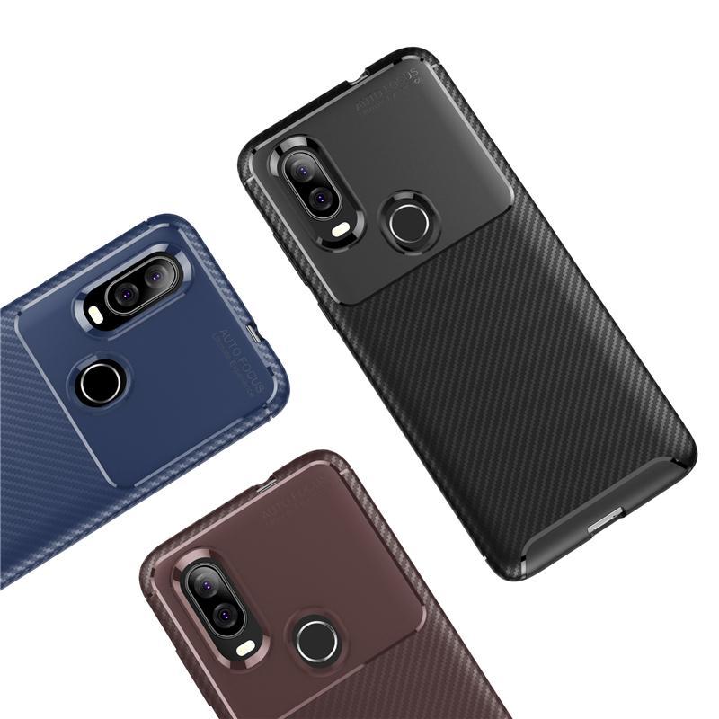 Чехол для телефона ультра тонких углеродных волокон для Motorola Moto G9 Play G7 G8 Cover Power Cover для Moto E7 G Fast One 5G Plus G STYLUS E6 P40 P50 COQUE