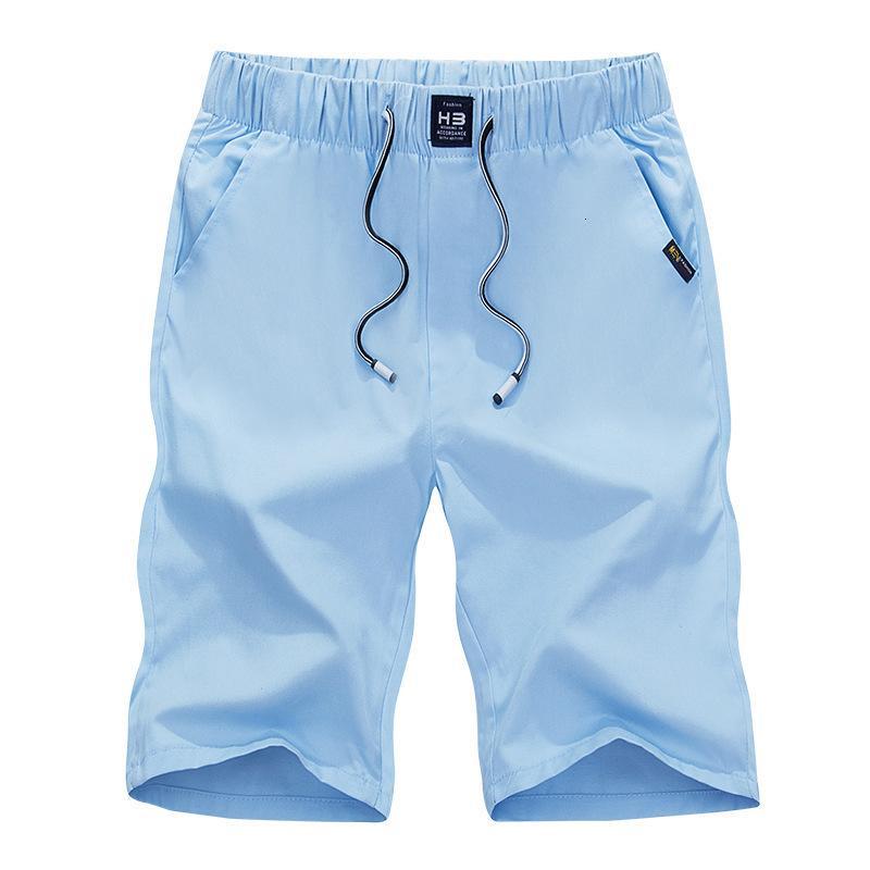 Summer Nouveau Casual Casual Capris Cotton Tendance des pantalons pour hommes