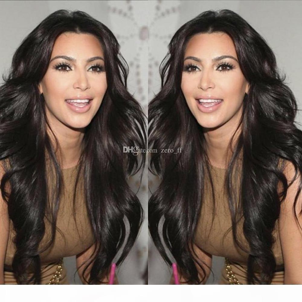 Glueless 5*4.5'' Silk Top Full Lace Wig Body Wave Human Hair Silk Based Wig Virgin Brazilian Full Silk Wig Bleached Knots