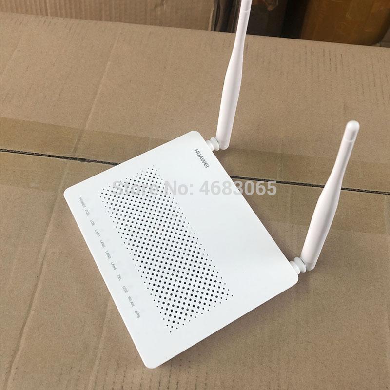 5PCS EG8141A5 GPON ONU ONT FTTH HGU Wifi Router Modem 5dBi 1GE + 3FE + 1tel + USB + Wi-Fi Network Equipment No Box und Netzstecker