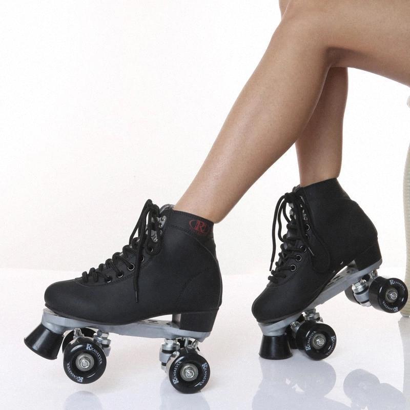 Skate Shoes Roller Skates pour garçons et filles 4 roues # 4O1J