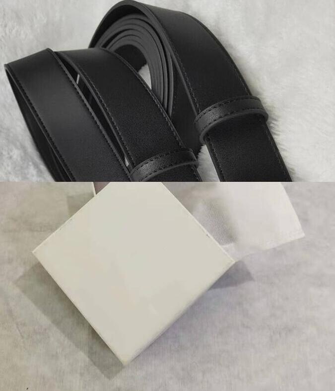 2020 Cinture all'ingrosso per maschile e femminile della cinghia di moda Cinture cuoio genuino Business Women Big Oro Argento Bronzo Fibbia bianco con la scatola