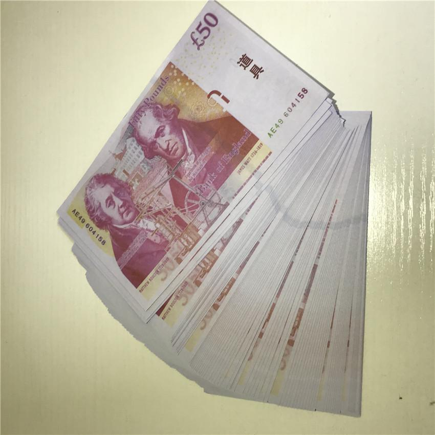 MONEY COCH CALIDAD JUEGO JUGUETES DE NIÑOS BARRILLO LIBRO BRITÁNICO EEPKI TOYS PROPS APRES BILSTICOS BEST 50 Billetes P22 Monedas PXUMV