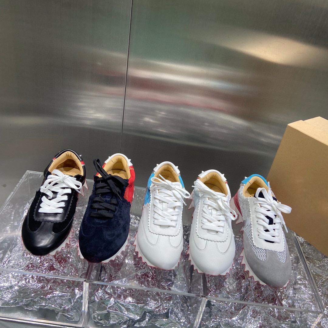 2021 Новые Мужчины Женщины Повседневная Обувь Заклепки Повседневная Обувь Уокер Обувь Кроссовки Обувь Высвое качество С Коробка Большой Size35-48