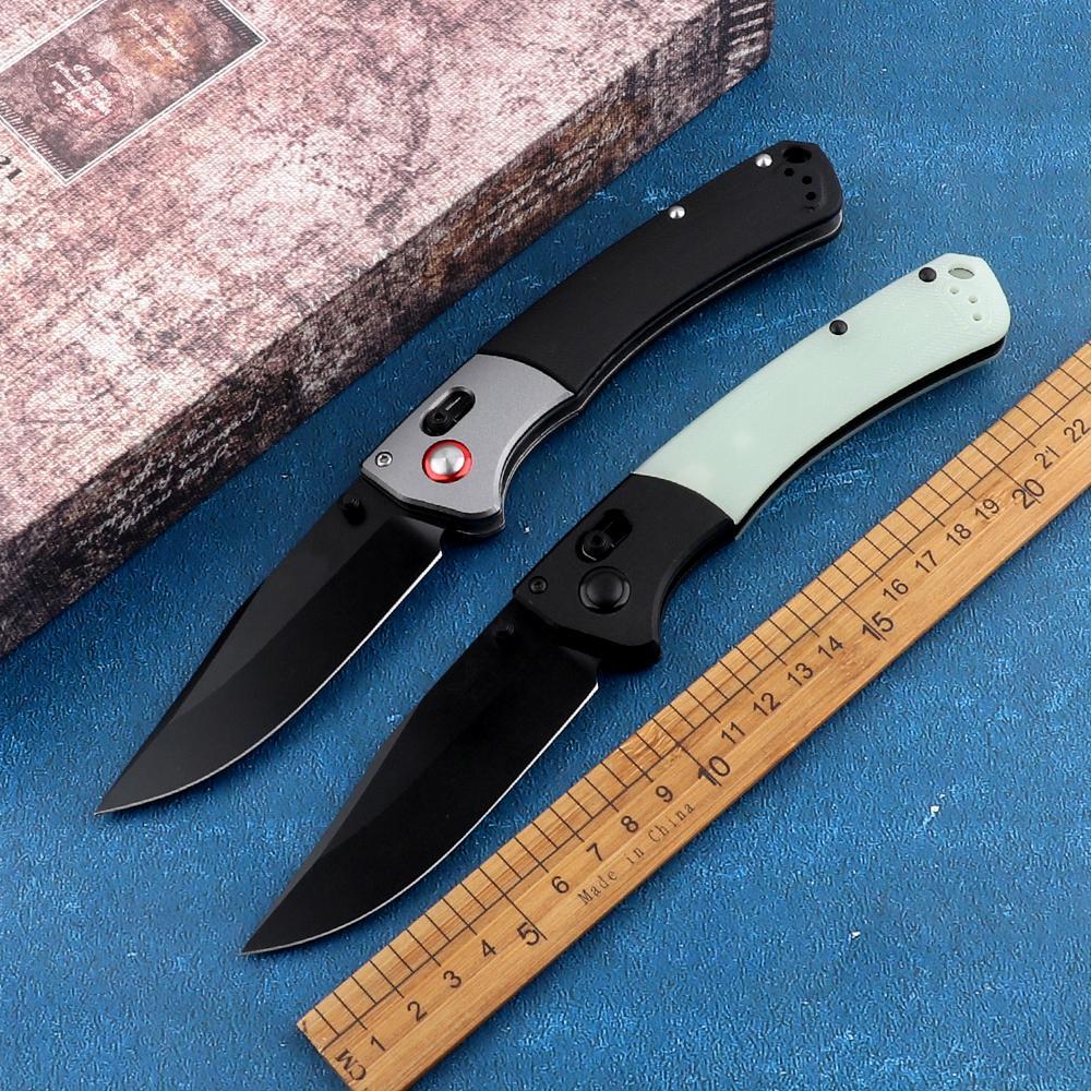 New bolso 15080 afiada G10 420J2 punho lâmina 9cr18mov instrumento de caça tático acampamento ao ar livre autodefesa EDC dobrar faca