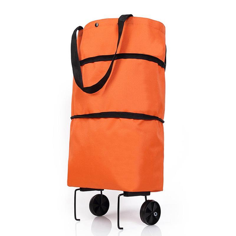 FGGS-Folding Shopping Pult Cart Trolley Bag с диски складные сумки для покупок Бакарея Организатор Овощи Сумка