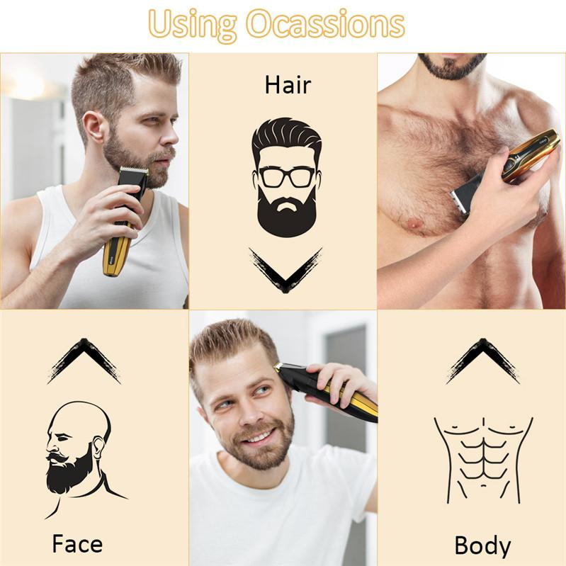 DHL Venta Barber Shop Pein Clipper Professional Peinado Trimmer para Hombres Barba Cortador Eléctrico Cortador de Corte Corte Cortapelo Cordon Cordon