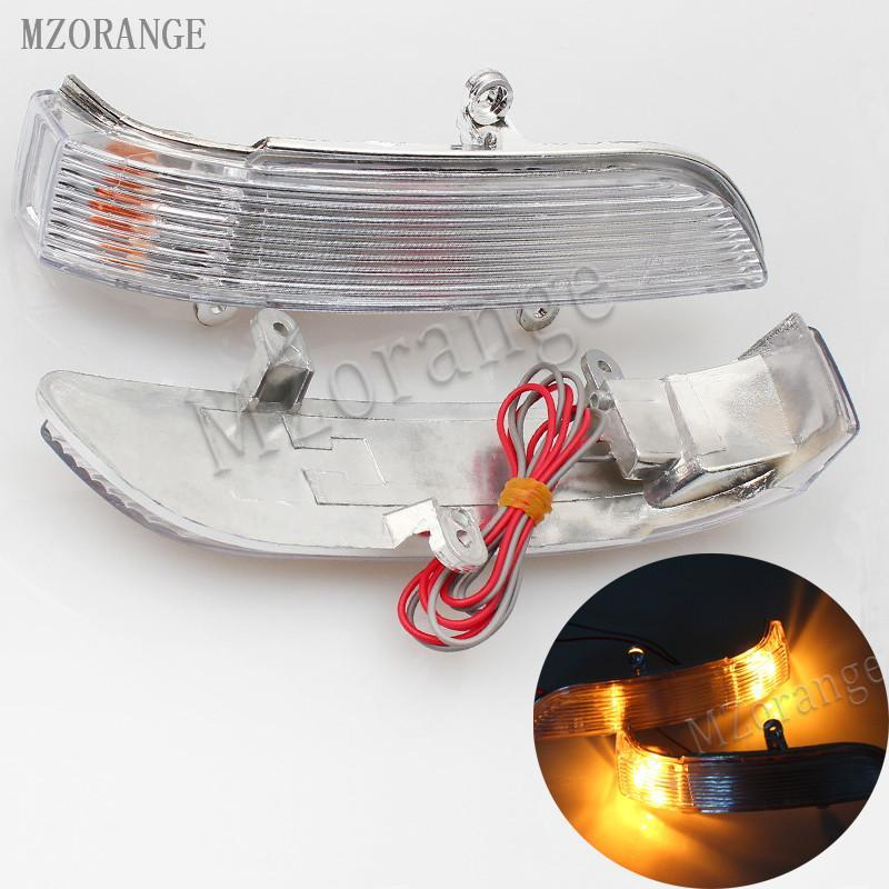 señal de espejo de coche llevó la luz de señal de giro espejo lateral para Great Wall Hover H5 para Haval H3 2005-2012 pista Vista trasera luces