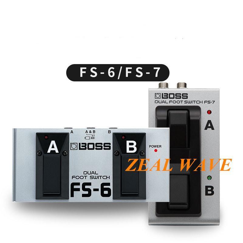 Boss FS-6 FS-7 Guitar Efeito Interruptor Pedal Pedal Switch Speaker Pesca Controlador