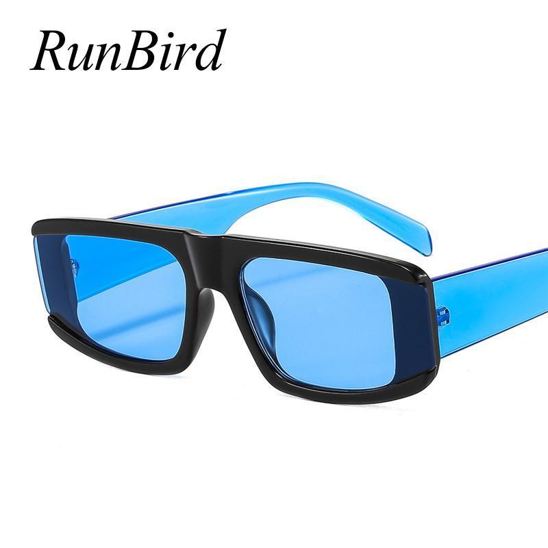 Солнцезащитные очки 2021 Ретро Классические Моды Мужчины Женщины Небольшой Квадратный Рамка Солнцезащитные Очки Дамы Океан Оценка Oculos UV400 5517