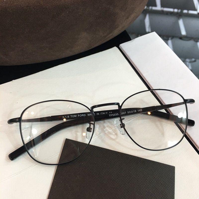 Çerçeve 53-19-145 Boyutu Yeni Moda Gözlük Büyük Retro Göz Çerçevesi Kısa Gören TF5333 Çerçeve Lens Ölçü Reçete Kalitesi Yüksek Can Kohxj