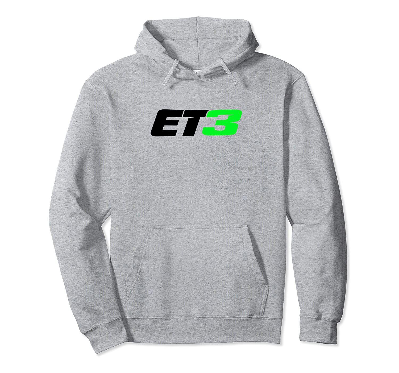 ET3 ELI TOMAC con capucha unisex del tamaño S-5XL con gris / azul marino / Real Heather Color Negro / azul / oscuro SUDOR motocross y SUPERCROSS MERCHAND