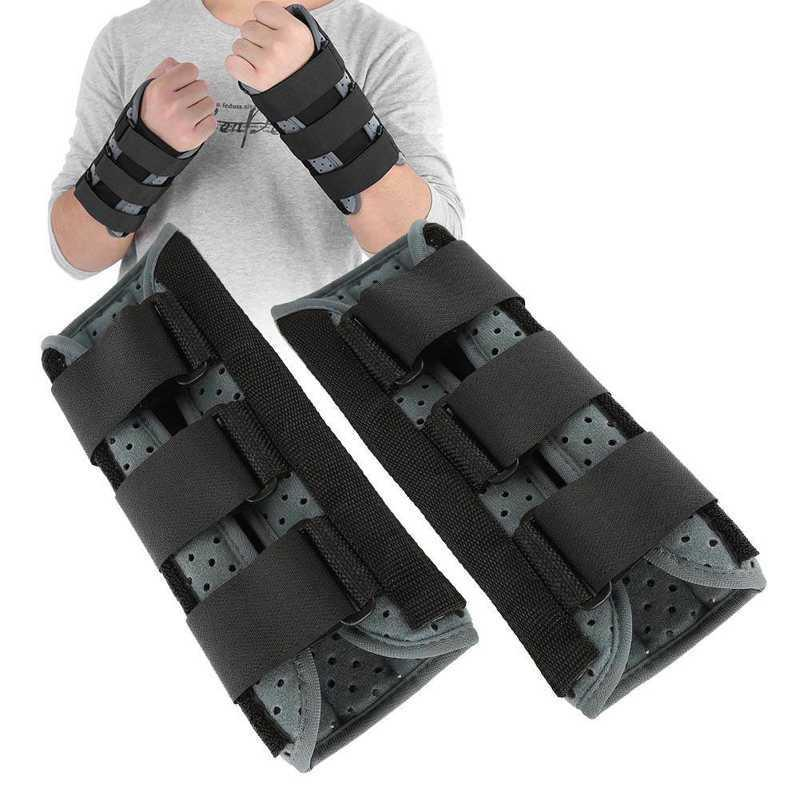 1pcs Breathable Wrist Protective Brace Support Splint Wrist Joint Sprain Guard Black Prevention Wrist Protector for Brace