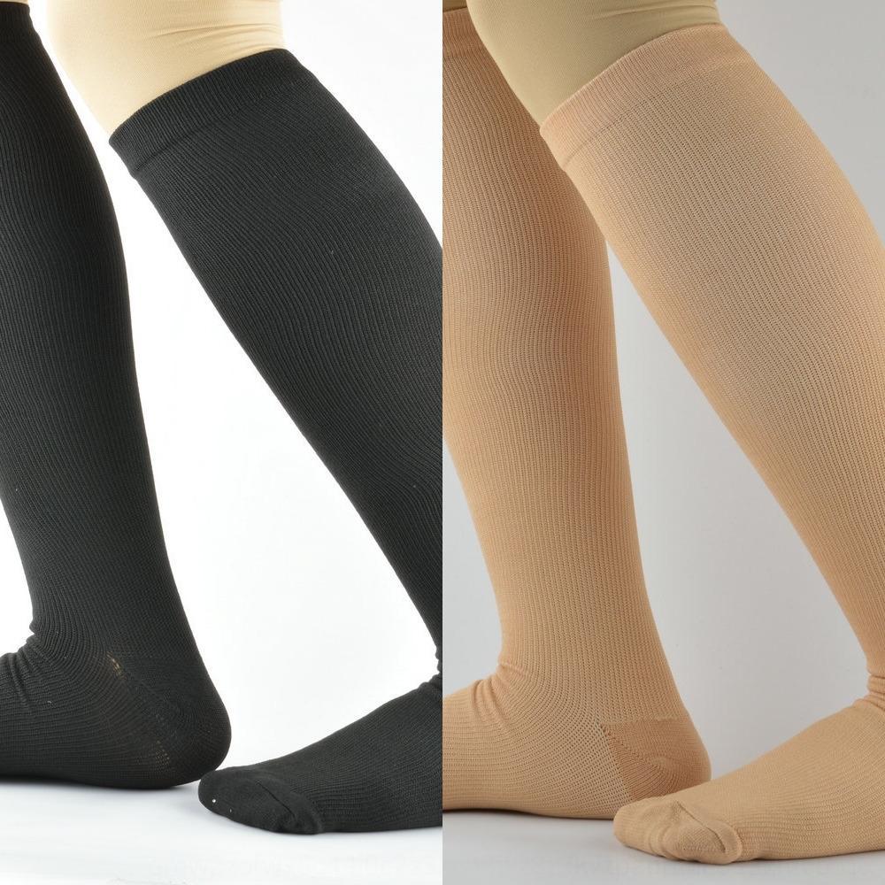 in fibra di anti calzini elastici ELT3w sport rame venose manicotto autobloccante fibra movimento di anti pressione fatica calzini copertura di protezione della gamba fRMoU