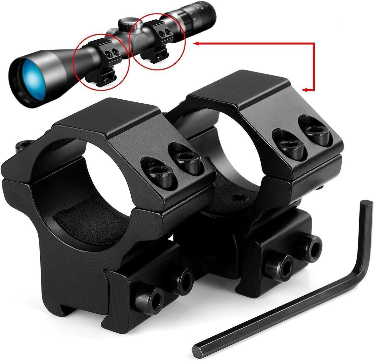 """Lirisy 1 """"Компания Mount Low Profian Profile Rings для 11 мм доветейных рельсов (2 шт.)"""
