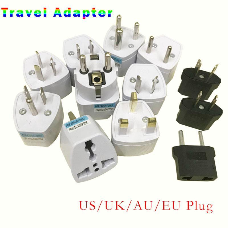 유니버설 여행 어댑터 US AU EU UK 플러그 파워 충전기 어댑터 변환기 250V 10A 소켓 변환기 화이트
