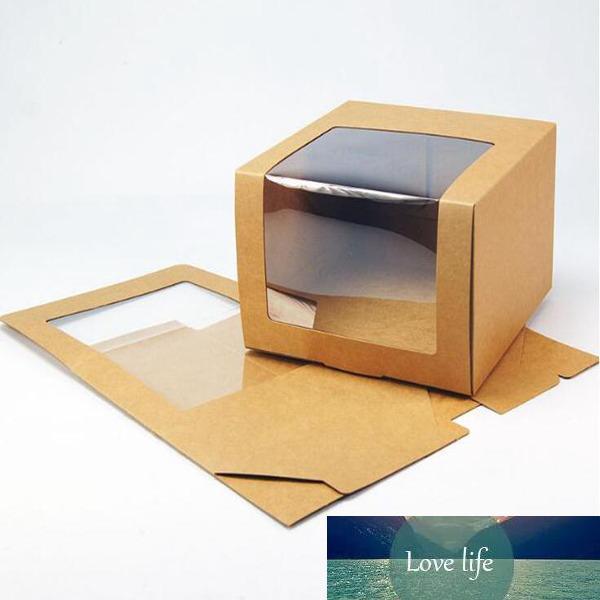 100pcs Chapeau papier boîte avec PVC fenêtre Casquette Beret Chapeau de fête d'emballage Boîtes d'emballage cadeau boîte