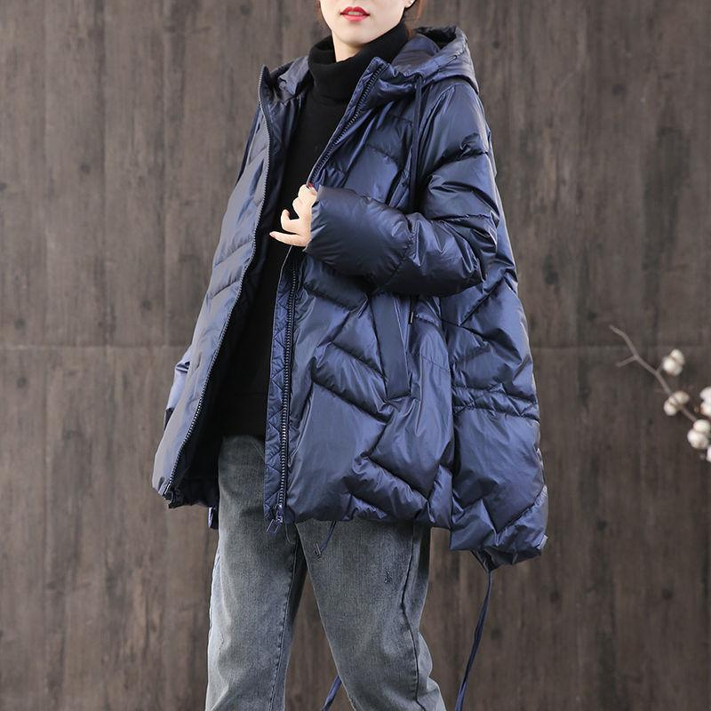 Short Winter Jacket Fashion New Women Down Jacket Simple Design Hooded Coats Warm Thicken Short Casual Down Parka 210203