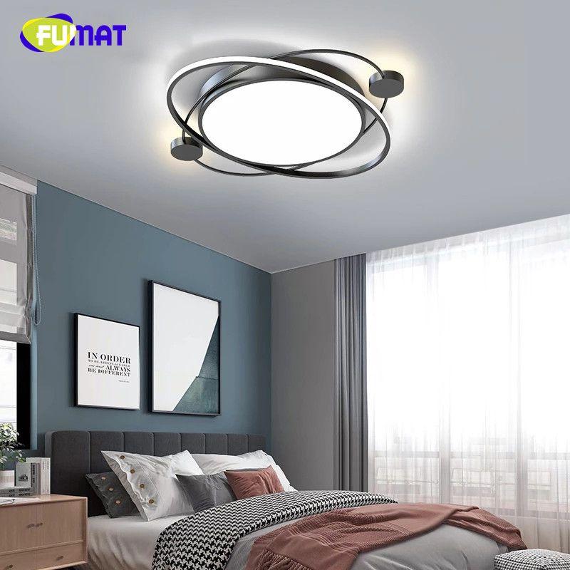 FUMAT Nordic Lamps Modern Minimalist Home Living Room Study Ceiling Light Bedroom led Lighting Creative Net Red room led Ceiling Lamps