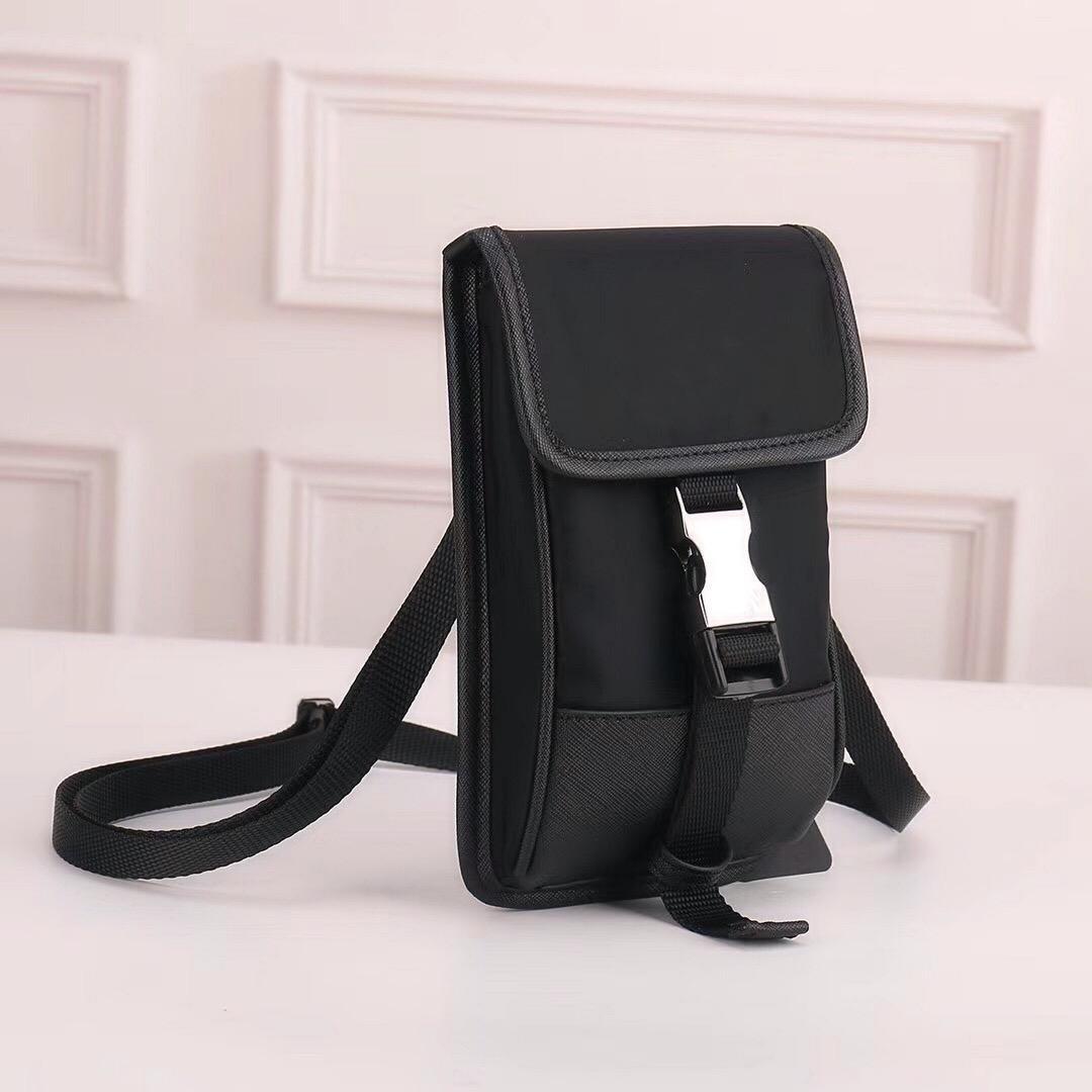 도매 전화 지갑 캔버스 어깨 가방 남자 지갑 핸드백 낙하산 원단을위한 남성 메신저 가방을위한 십자가 가방