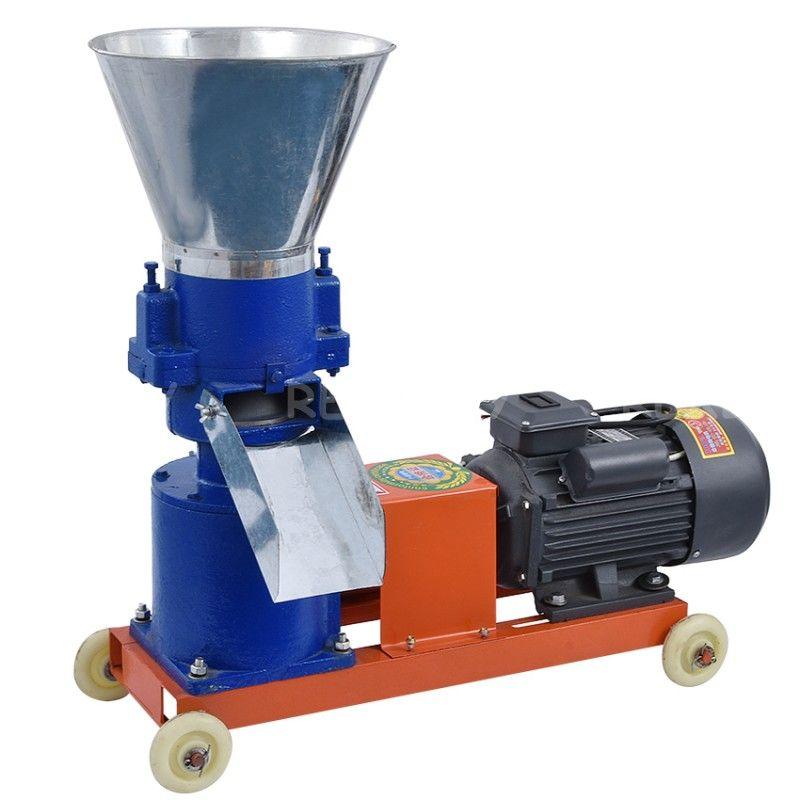 KL-150 بيليه مطحنة متعددة الوظائف تغذية الطعام بيليه ماكينة آلة تغذية الحيوانات المنزلية المحبب 220 فولت / 380V 80KG / H-150KG / H