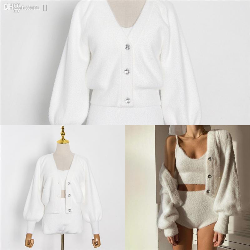 V1z2K Silk Blend Hollow Fuori sexy gancio a maglia a maglia in maglia da donna in maglia da donna modello di tallone primavera cardigan moda cardigan maglione cappotto m l