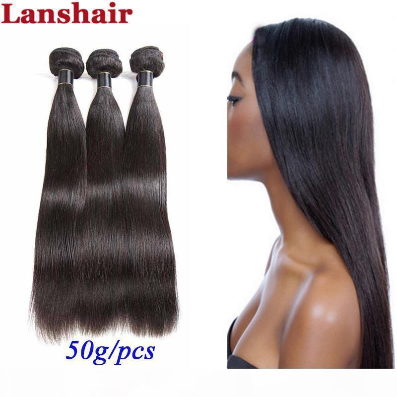 Malasia Brasileño Human Human Hair 8A Paquete de Virgen Sin procesar Paquetes Retales Malasia Virgen Virgen Extensiones Envío Gratis
