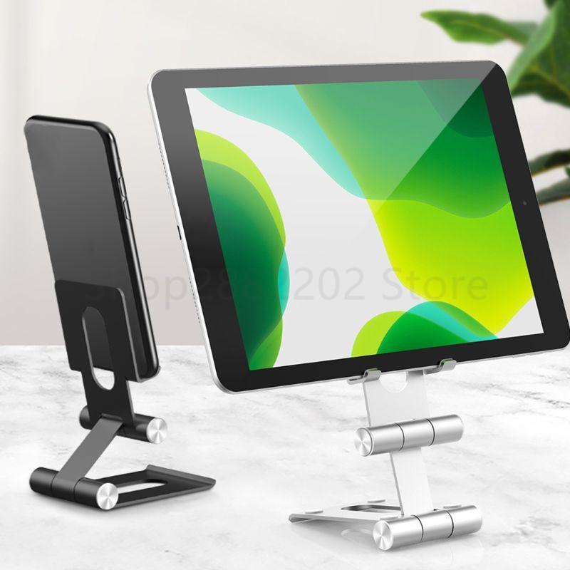 En alliage d'aluminium de bureau Téléphone support pliable tablette Support multi-angle réglable Téléphone portable Support Nouveau