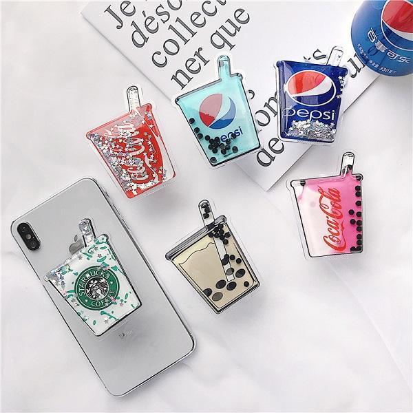 جديد حامل الهاتف المحمول التصحيح الهاتف المحمول شل quicksand حقيبة لينة قوس التصحيح الإبداعية الأزياء الاتجاه ل samrtphone