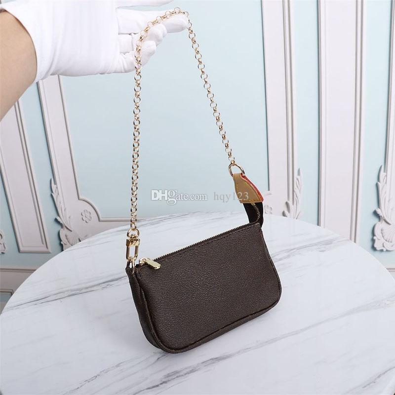 جميل البسيطة حقائب فاخرة أزياء حقائب النساء الكتف جودة عالية من حقائب اليد العلامة التجارية حجم 15 × 10 × 3CM