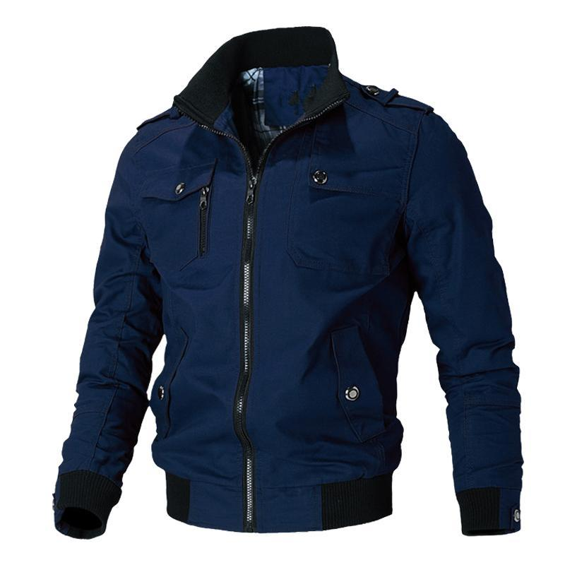 2020 новая вскользь куртка мужчины весна осень Army Куртка мужских пальто Мужской Верхняя одежда Ветровка марка одежда