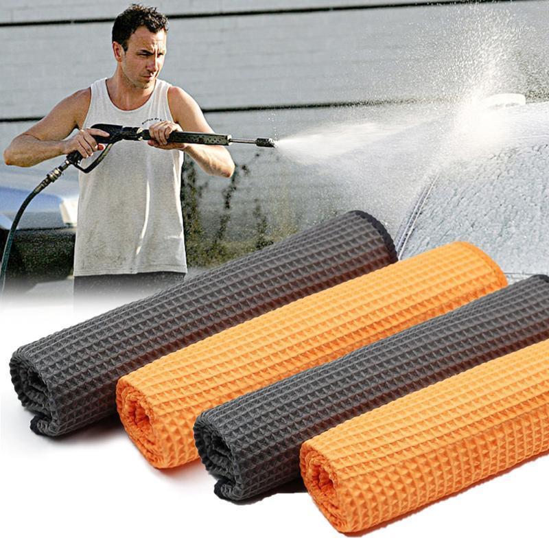 40x40cm limpeza toalha de microfibra carro cozinha limpador de limpeza de carro lavagem de vidro de limpeza de cera de polimento detalhando toalha wash kit1