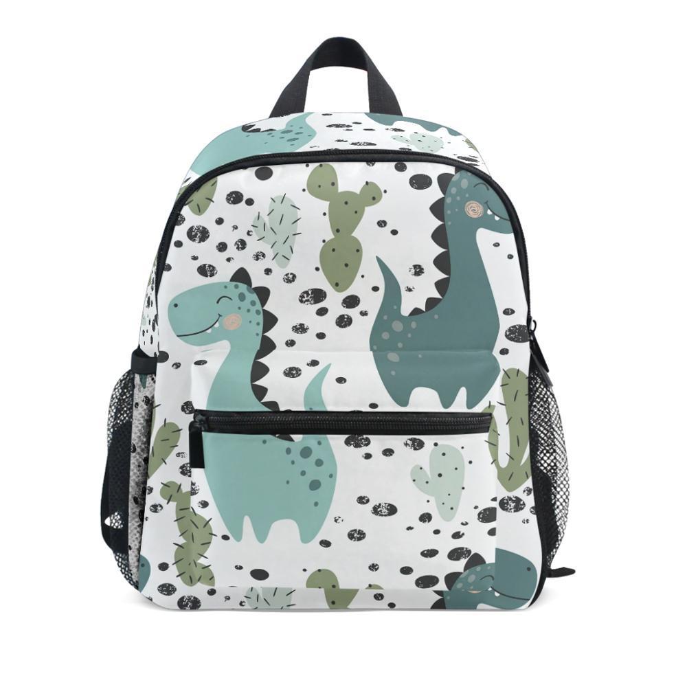Children Kids Dinosaur Backpack School Book Bag Rucksack Kindergarten Boys Girls