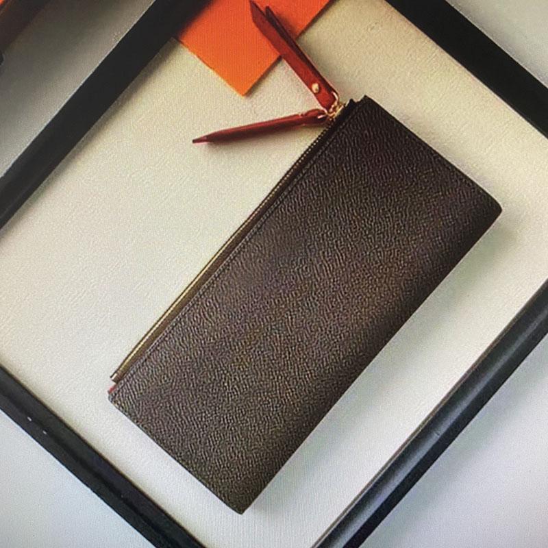 diseñador diseñador billetera carpetas de las mujeres hombres del diseñador carpetas de los mens cartera mujeres cartera carteras para mujer de 04 M61269